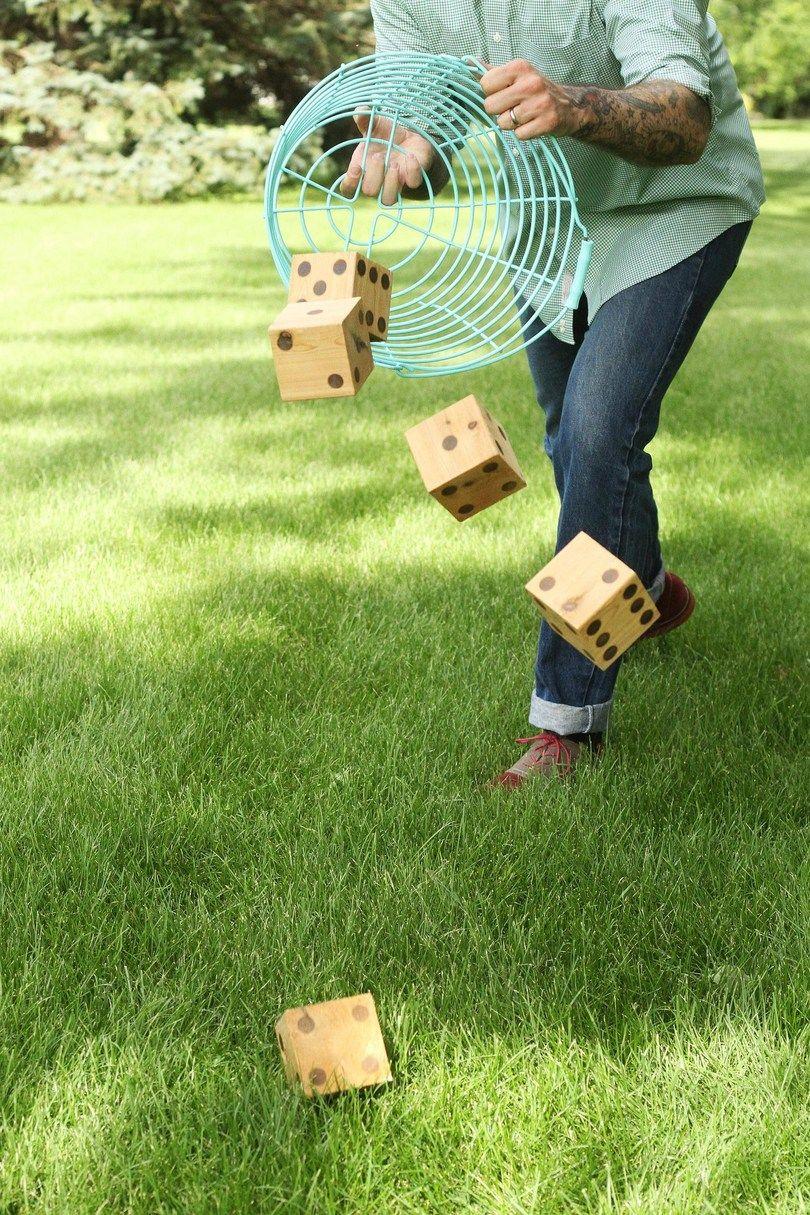 Watch How to Play Yard Yahtzee video
