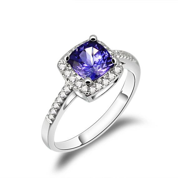beautiful tanzanite engagement rings - Tanzanite Wedding Rings