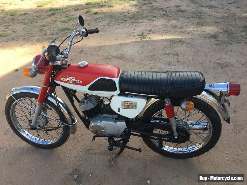Kawasaki Ga2a 90 Cc 1971 1974 Excellent Original Condition