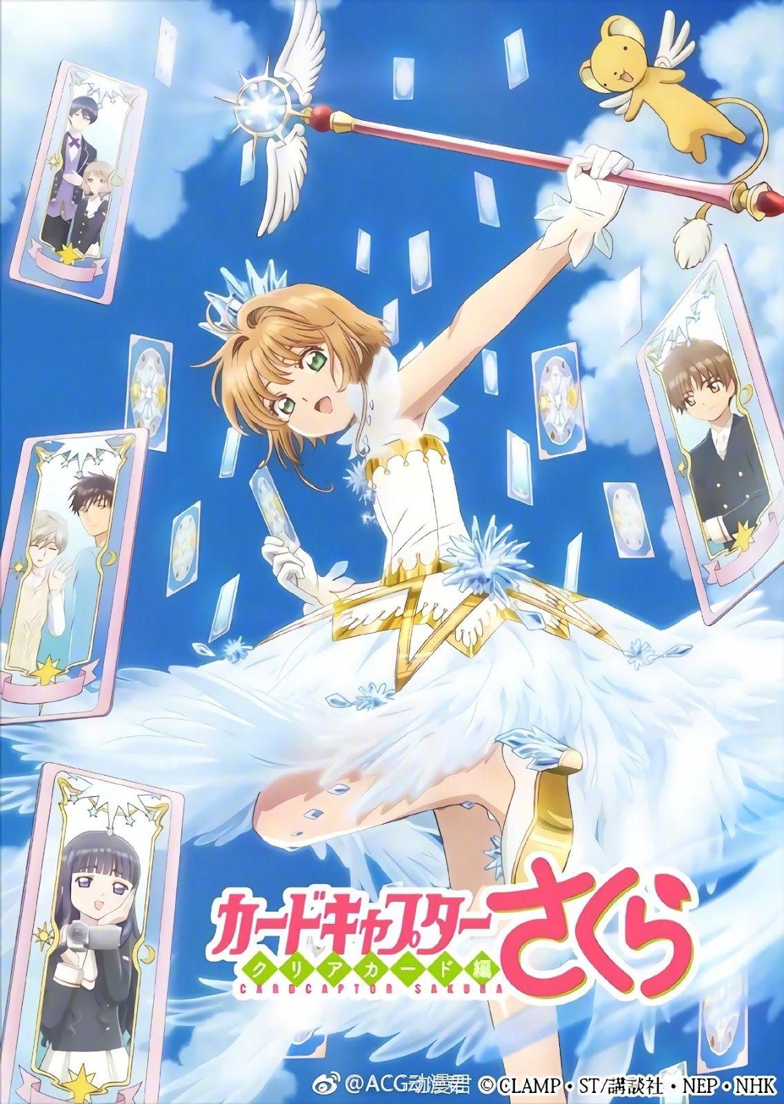 Cardcaptor Sakura Clear Card Hen Genres Adventure Comedy Fantasy Magic Romance Shoujo