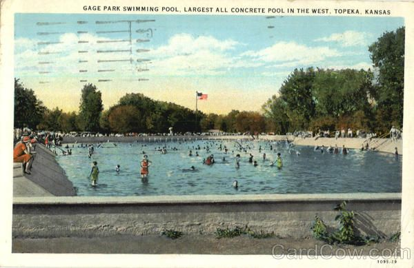 Gage Park Swimming Pool Topeka Ks Swimming Pools Recirculating