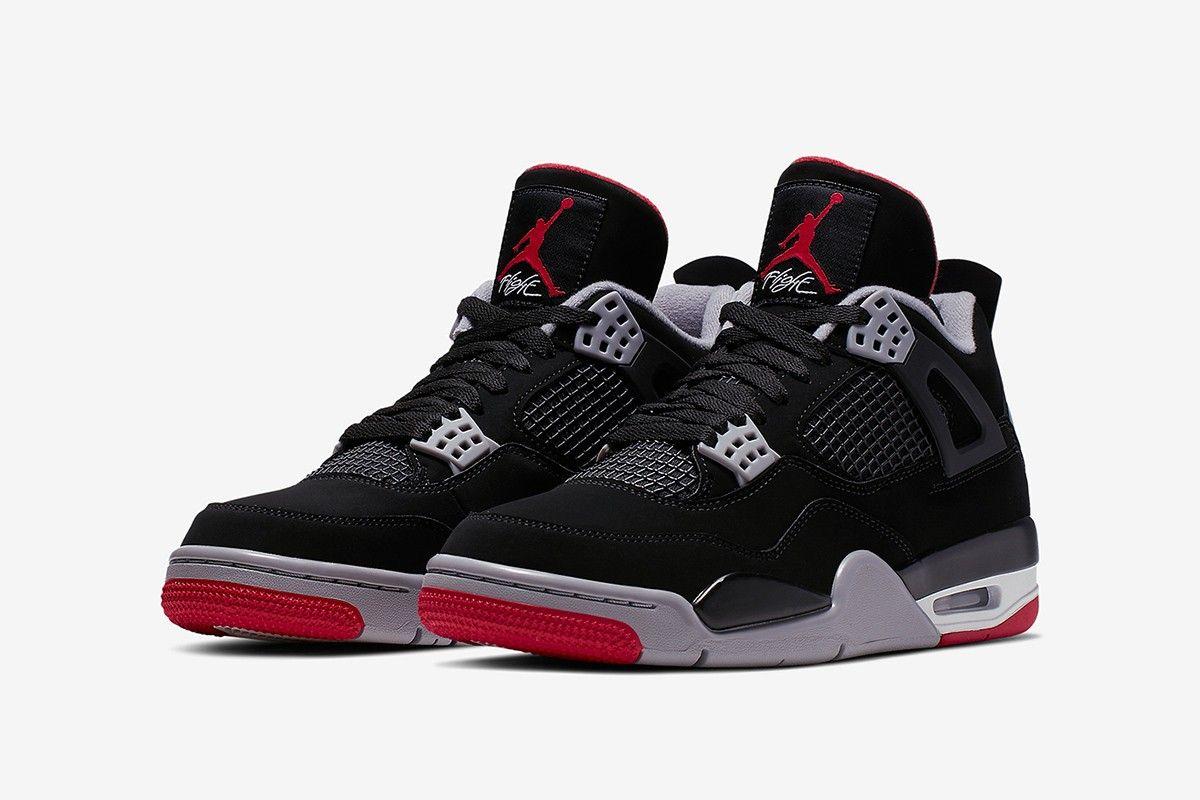 Where To Cop Every Air Jordan 4 Bred From 1989 To 2019 Air Jordans Retro Air Jordans Sneakers Men Fashion