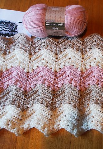 Easy] 6-Day Kid Blanket - Free pattern | Decken, Basteln mit papier ...