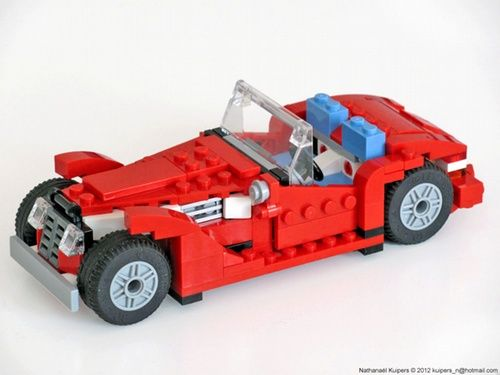 5867 Vintage Car A Lego Creation By Nathanael Kuipers Mocpages