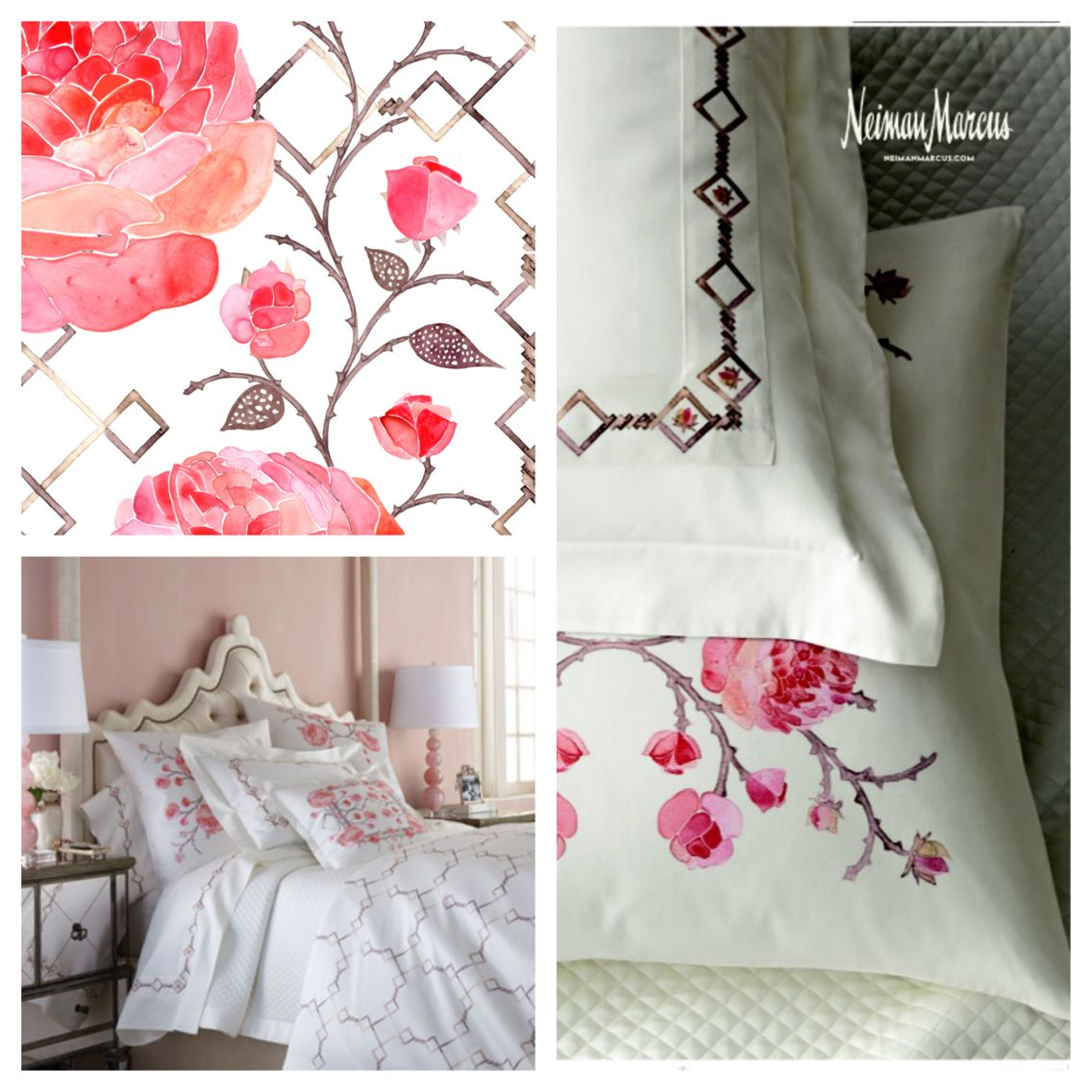 Tribute Goods Strength and Beauty bedding collection as ...