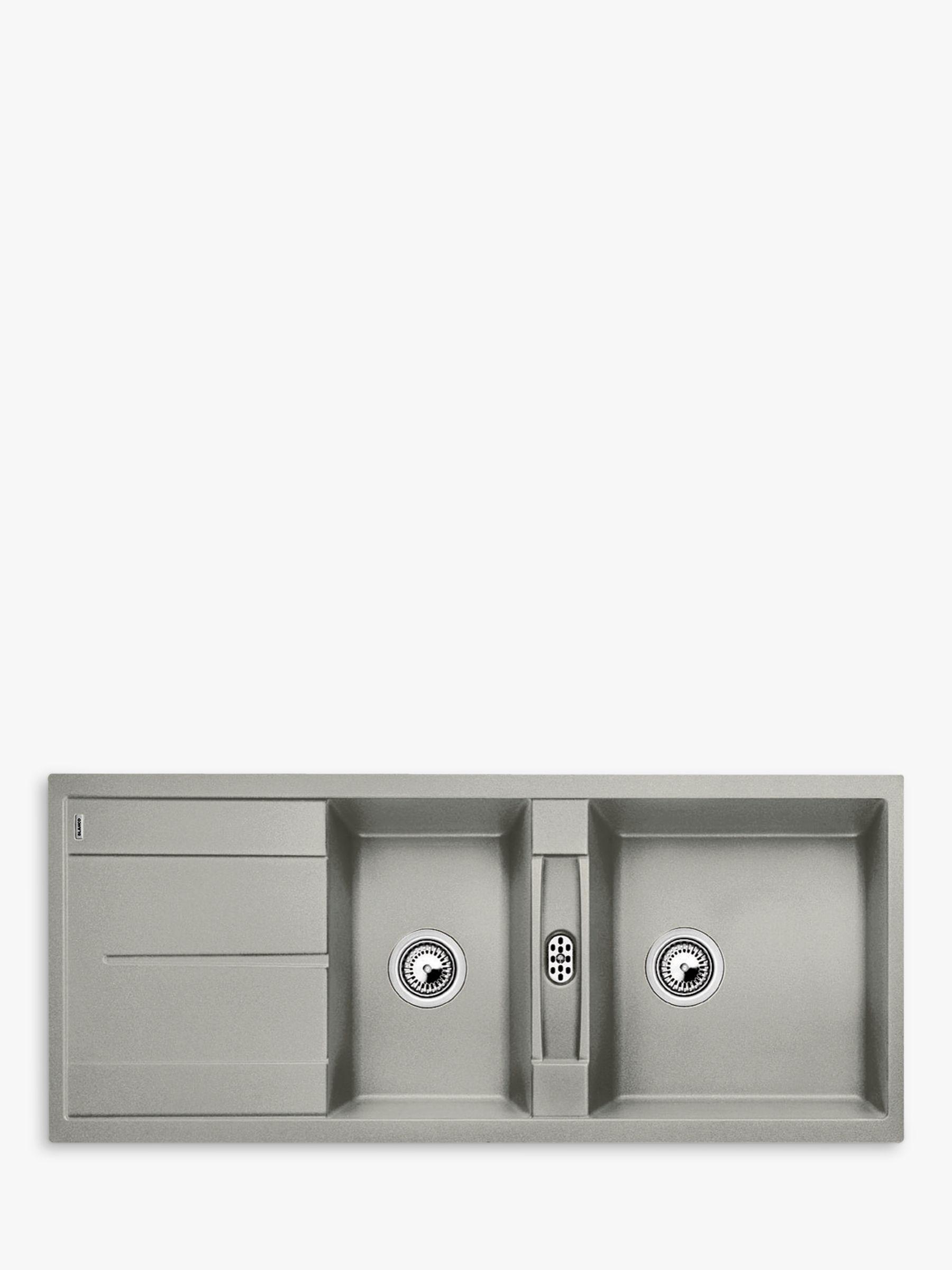 Blanco Metra 8 S Composite Granite 1.5 Bowl Inset Kitchen Sink
