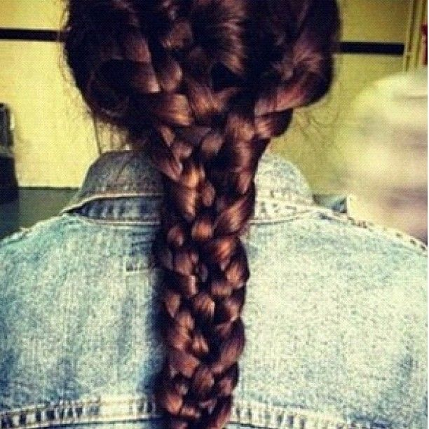 Braid upon braid upon braid.
