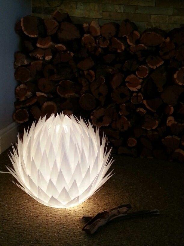 Vellum Lamp Shade Protea Protea Leaf Art Paper Paper Flowers