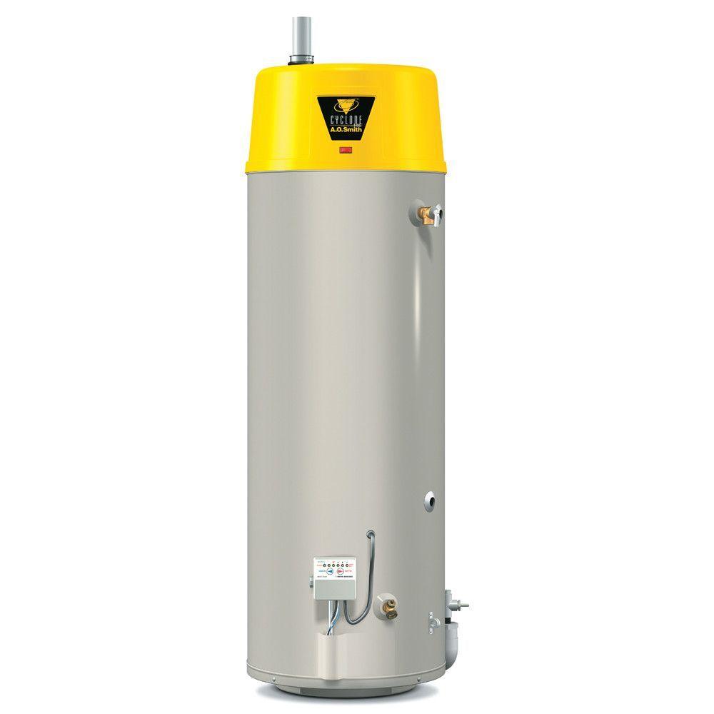 Btx 80 Commercial Tank Type Water Heater Nat Gas 50 Gal Cyclone He 76 000 Btu Input High Efficiency Water Heater Water Heater Thermostat Portable Water Heater