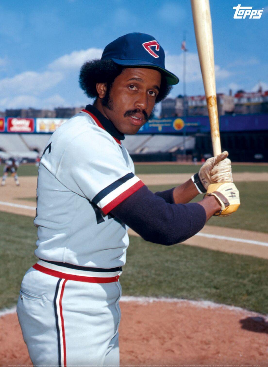 Oscar Gamble Cleveland Indians Cleveland Indians Baseball Indians Baseball Cleveland Indians