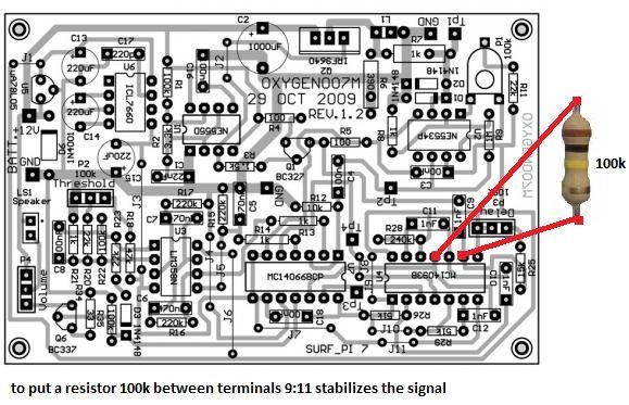 Detector Surf Pi Pagina 6 Detector De Metais Detetor De Metais Placa De Fenolite