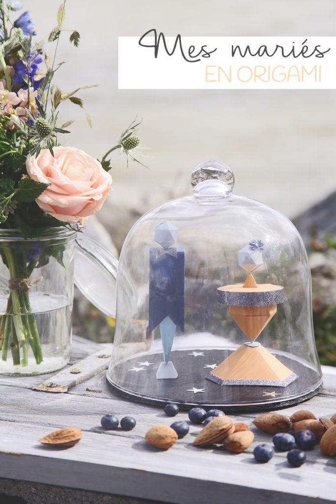 DIY : MES MARIES EN ORIGAMI + BACKSTAGE PLUME - Aux petites merveilles