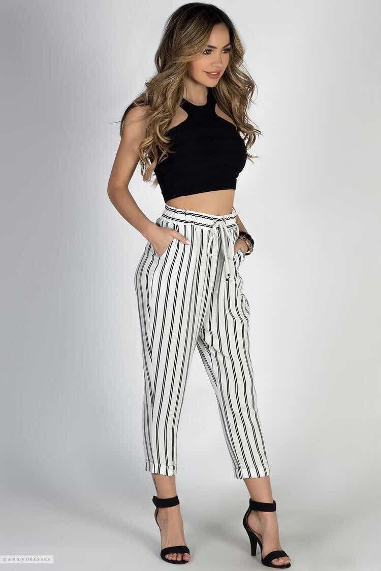 Pantalones De Moda 2018 Fashion Fashion Outfits Summer Outfits