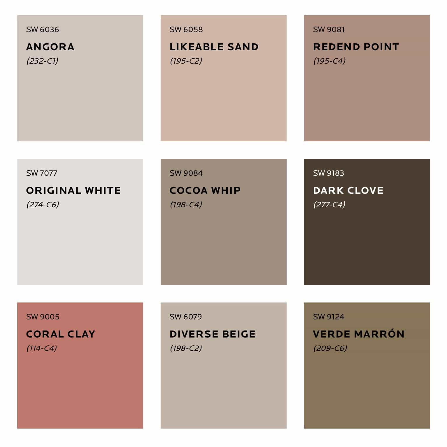 Colour Trends For 2020 Sherwin Williams Forecast Flamingo Cocktail Colores De Pintura Para Casa Colores De Fachadas Paletas De Colores Neutros