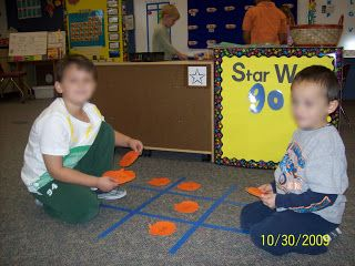 Sight Word Tic Tac Toe -- place your sight word 3 in a row