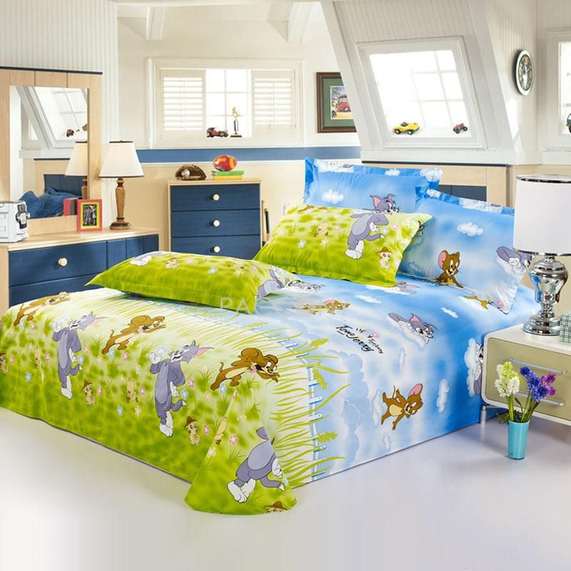 Pin By Vivian Style On Beddings Tom Jerry Kids Queen Size