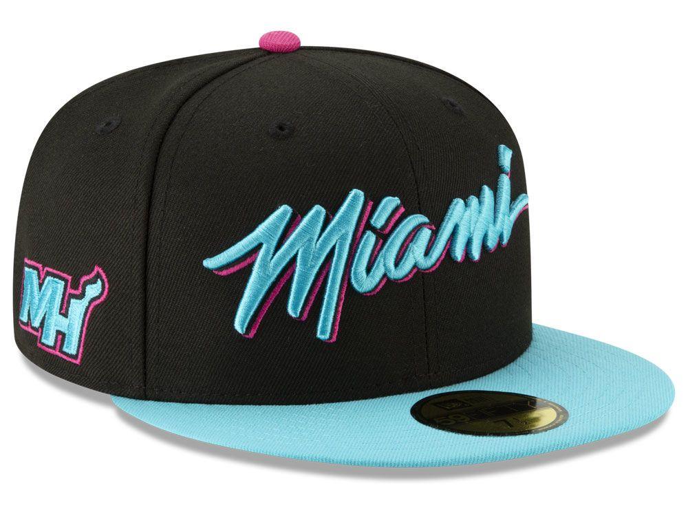 8b6af7b8c2f Miami Heat New Era NBA City Series 2.0 59FIFTY Cap in 2018 ...