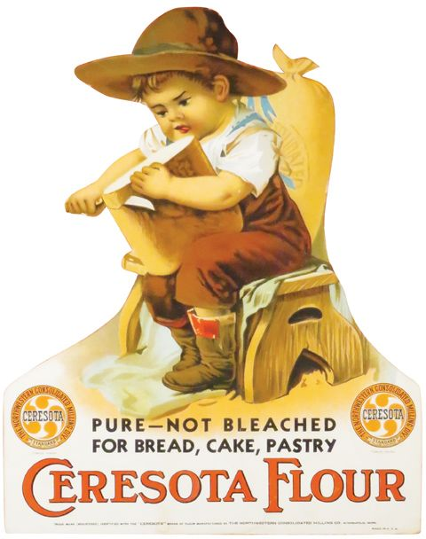 advertising vintage Ceresota flour