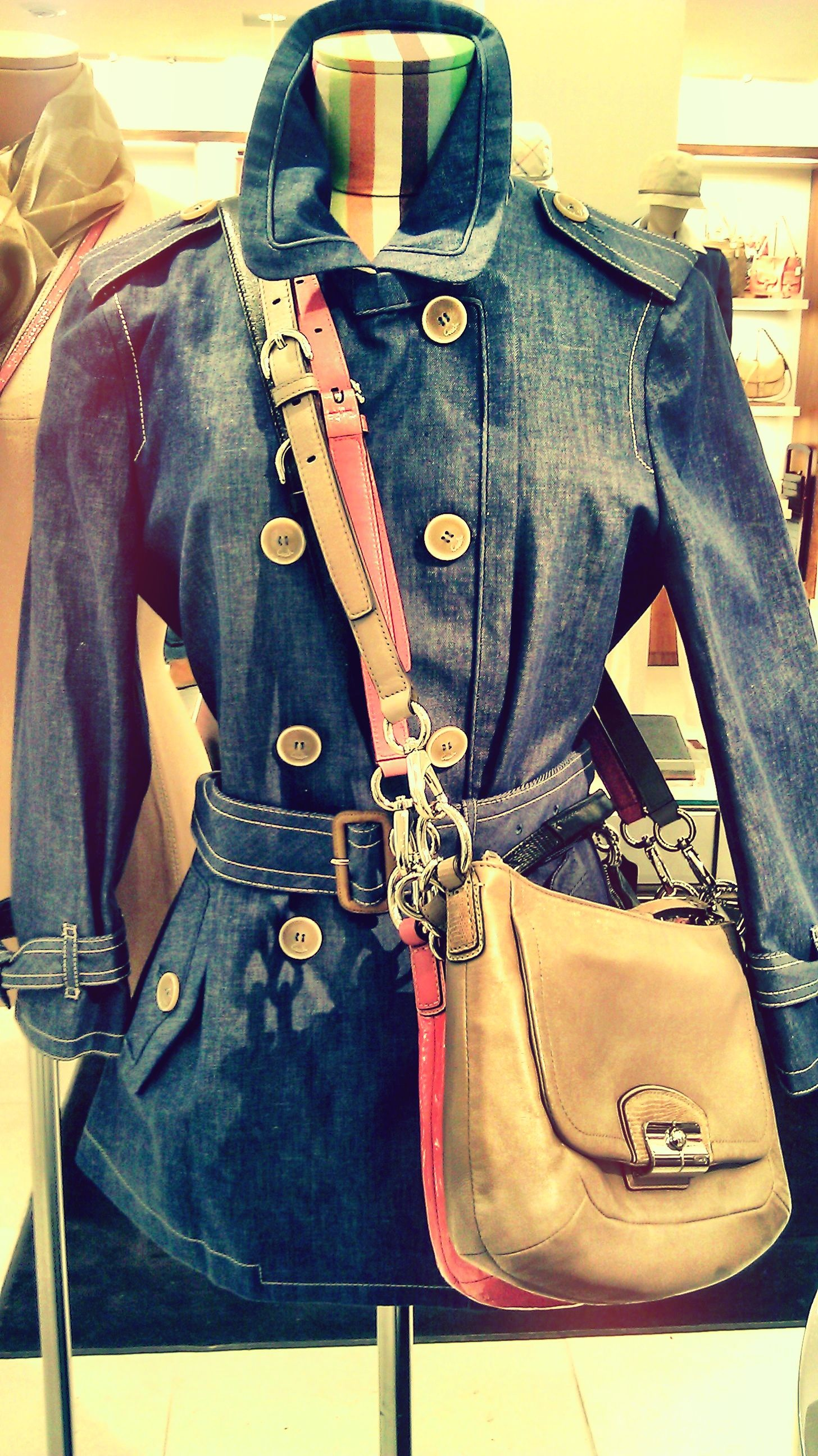 Coach Jean Jacket Seen At The Coach Store At The St Louis Galleria Mall My Own Photo Coach Fashion Coach Store My Style [ 2592 x 1456 Pixel ]