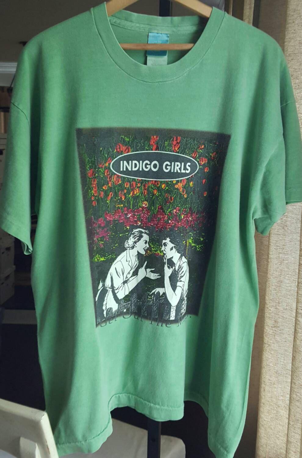Indigo girls shirt indigo girls band tshirt band shirt