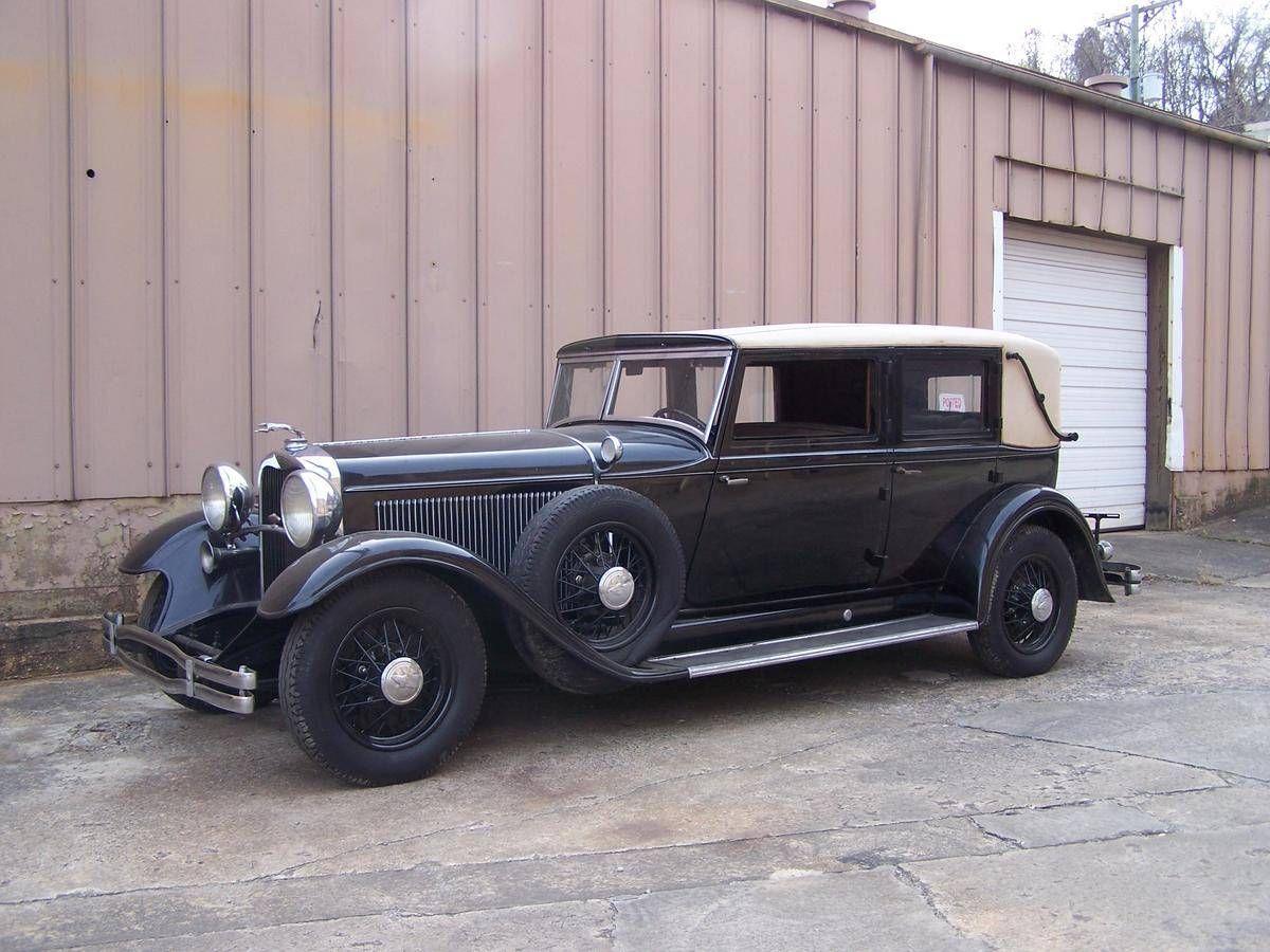 1931 Lincoln K Custom 2-W Berline By Judkins | Old Rides 4 ...