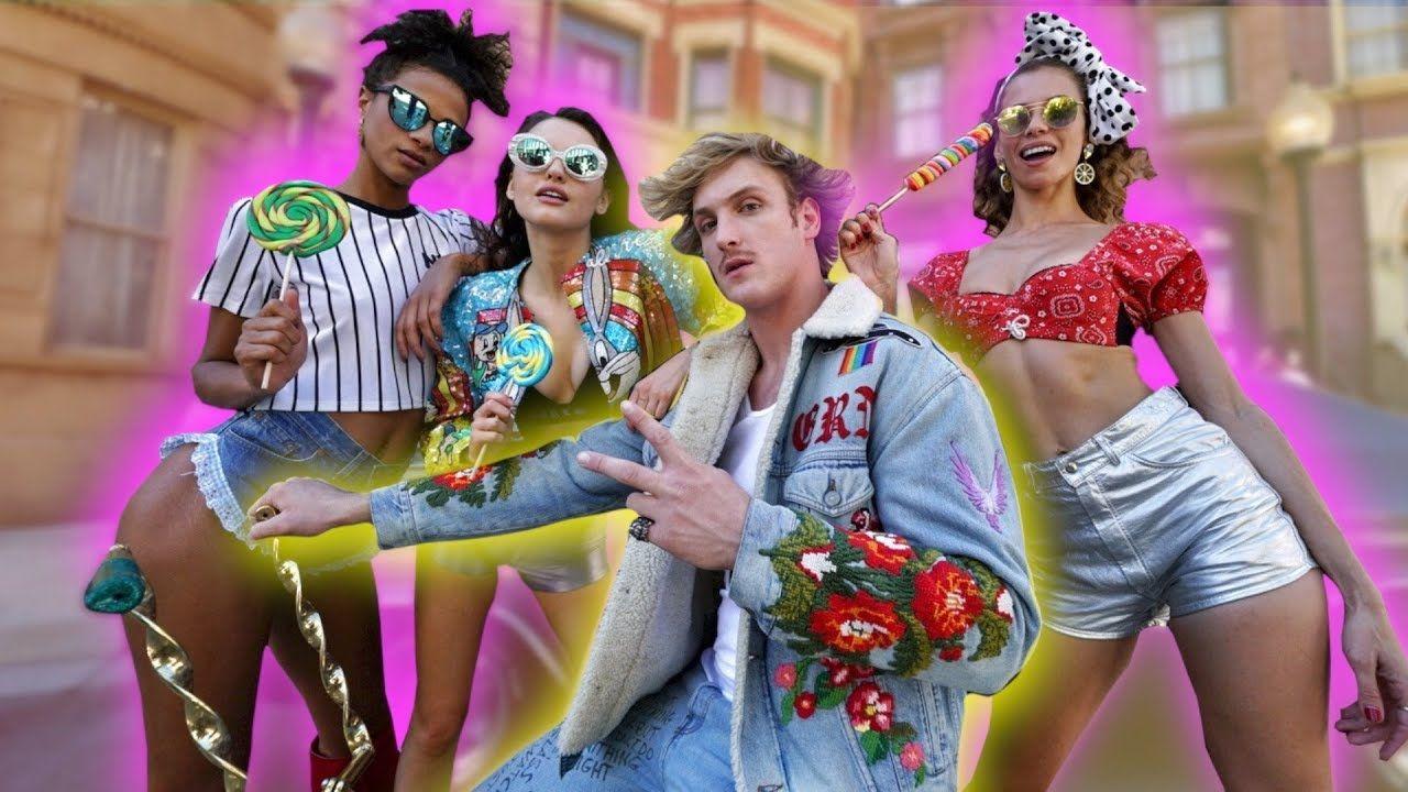 Logan Paul Is Busy In Shooting His New Song Loganpaul Girls Handlebars Music Losangeles Logan Paul News Songs Songs