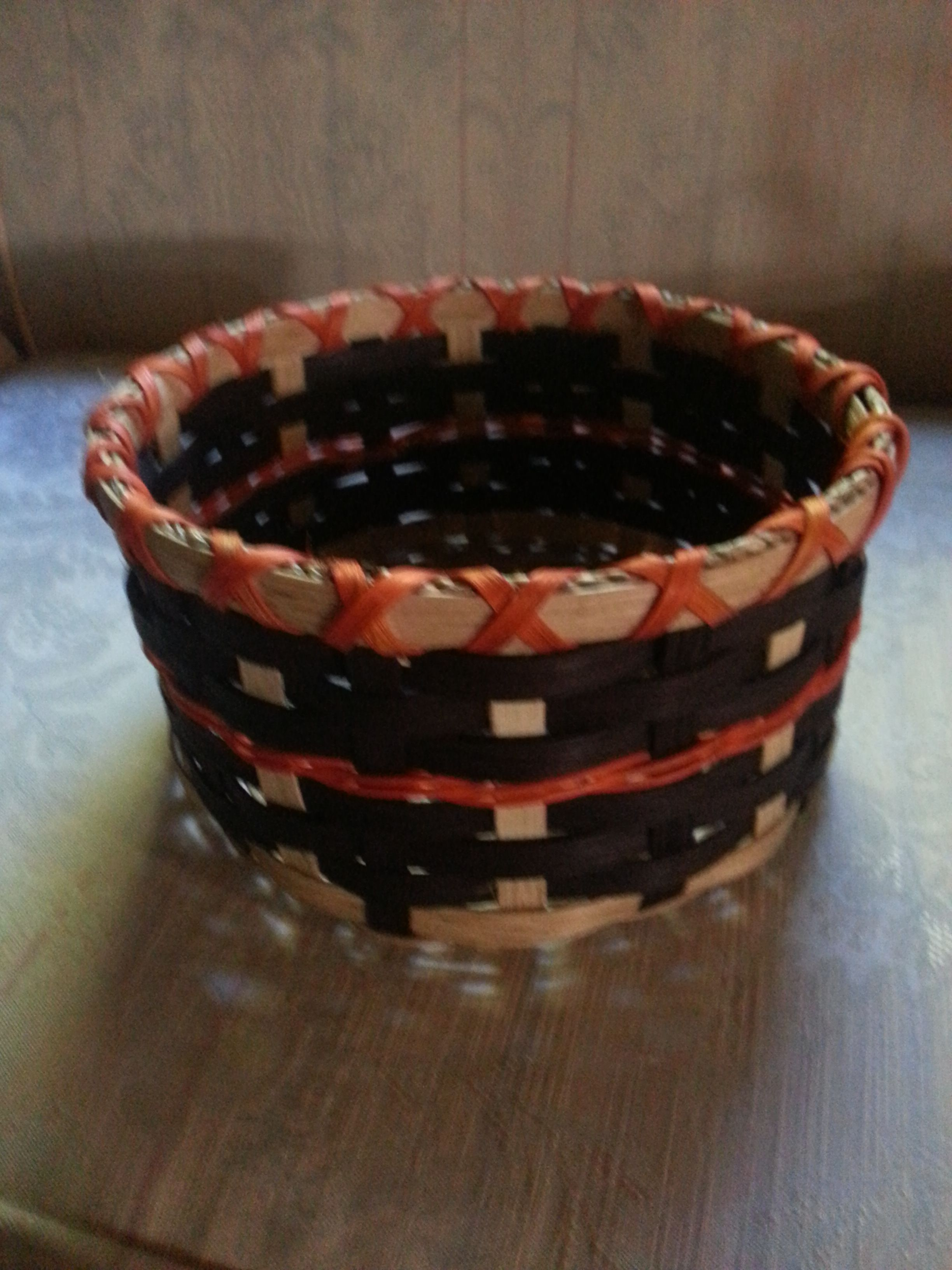 Round Basket Enjoy the darker side? Maybe this color is more for you.