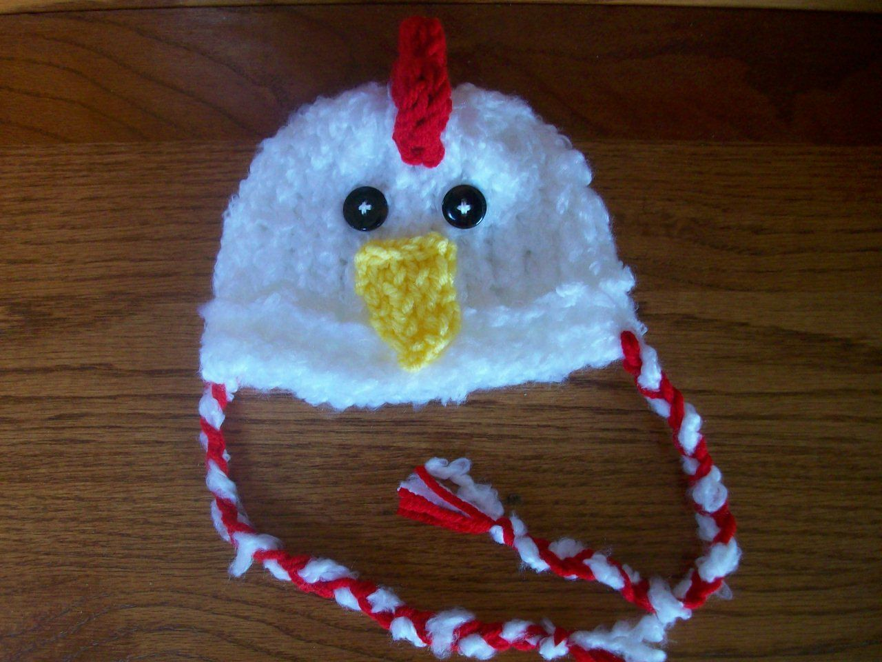 2449ac75b06 Baby Rooster Hat