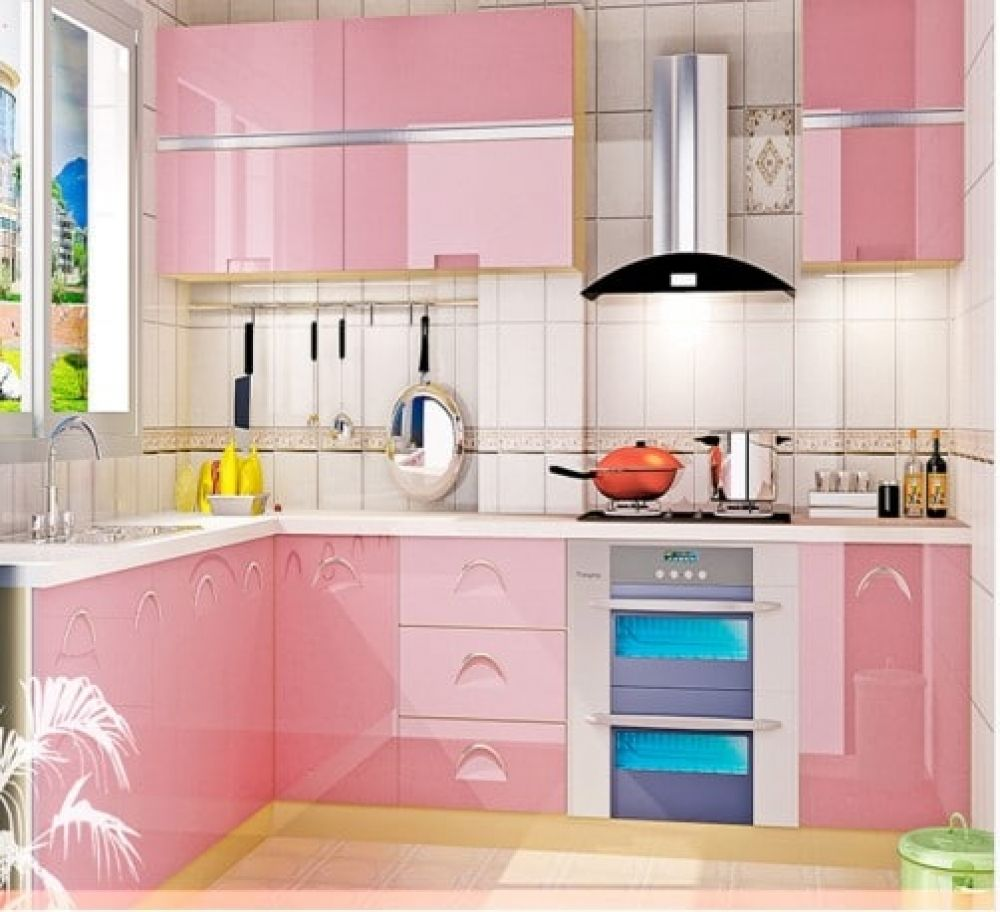 Glossy Waterproof Kitchen Film Buy Kitchen Goods Online At Kitchenshinny Kitchen Cabinets Peeling Kitchen Wallpaper Kitchen Furniture Design