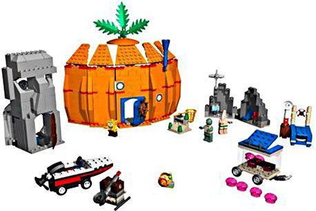 Lego Spongebob Squarepants Adventures At Bikini Bottom Set 3827