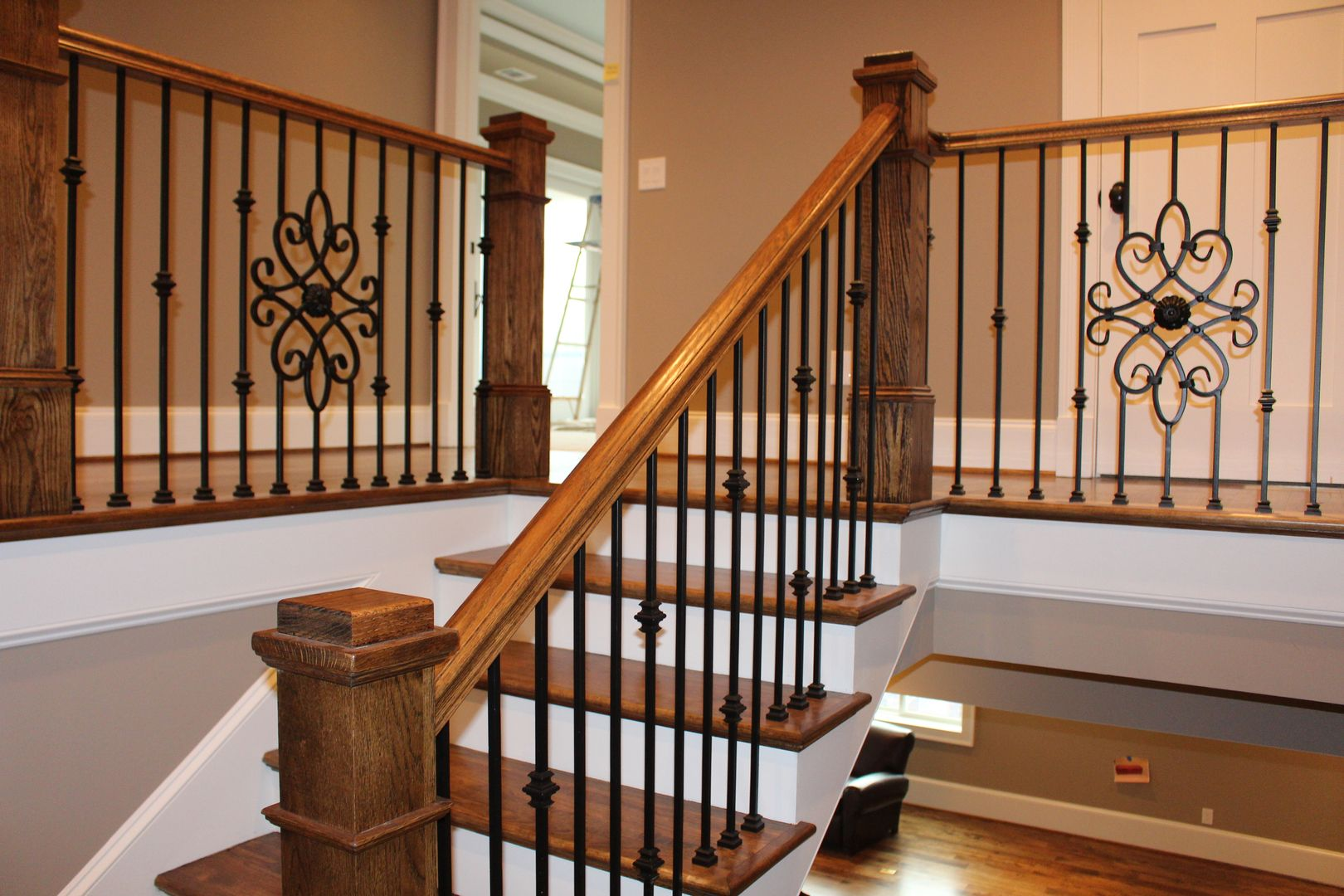 Advanced Staircase Inc. Staircase Products Provides Top Quality Stair Parts  Including Iron Balusters, Box Newel Posts, Wood Spindles, Custom Handrails,  ...