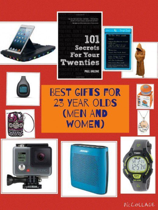 The Best Ideas Of Gifts For 23 Year Old Men And Women Including Latest Technology Gadgets Music Books Clothing Accessories Sports