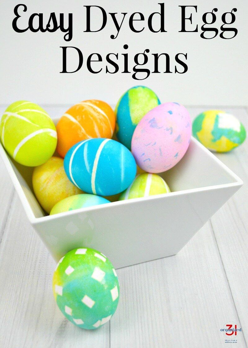 Dyed Egg Designs Easy To Make Egg Designs Easter Egg Dye