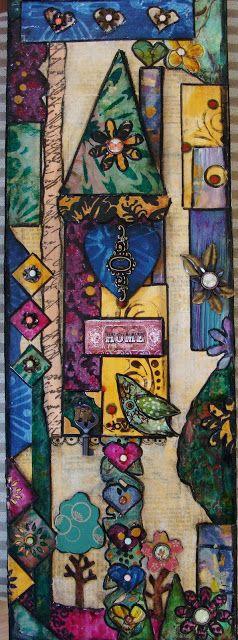 My Art Journal: Mixed Media Paintings