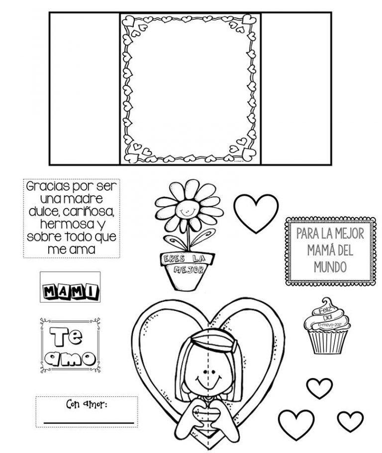 Fantastica Y Bonita Tarjeta Interactiva Para Mama Educacion Primaria Tarjetas De La Madre Tarjetas Interactivas Tarjeta Mama