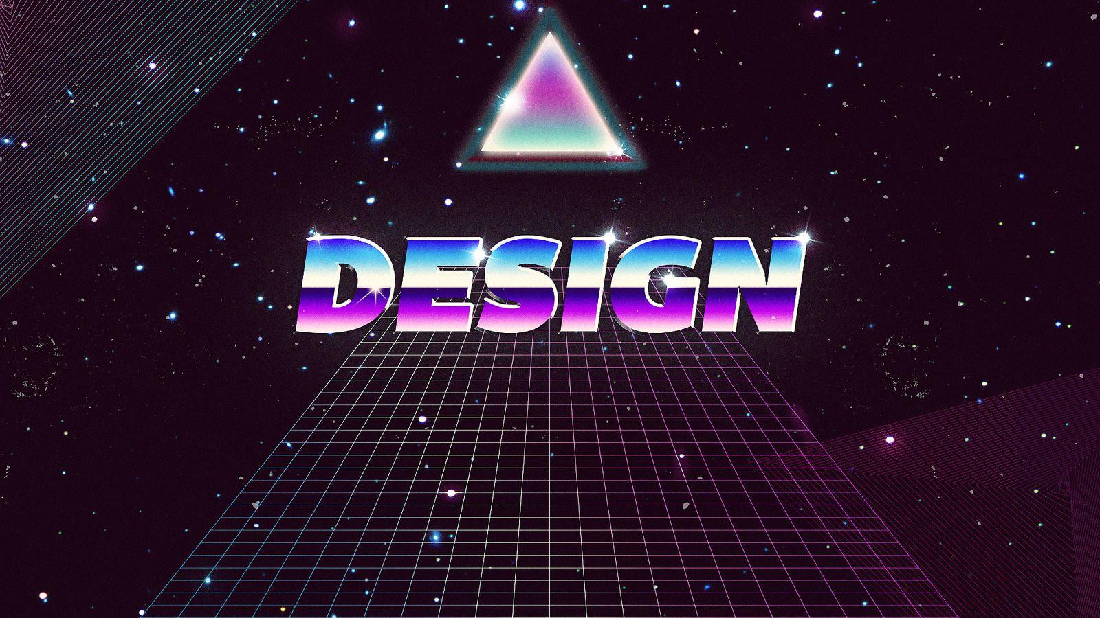Eternity by Graphixo, Edson Sampaio, Goiânia, Brazil on Flickr | Design | Typography | Tipografia | Retro | Graphic Design | Squares | Triangle | Quadrado | Triângulo | Square | Space | Universe | Galaxy | Stars | Estrelas |