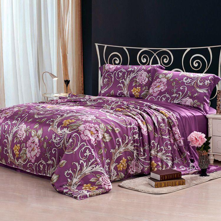 Mulberry silk bedding sets in 2020 silk bedding set