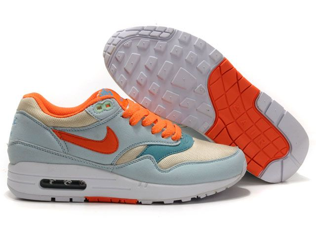 new style 19bd4 8d014 Latest Listing Womens Nike Air Max 1 Glacier Blue Sail Shoes The Most  Flexible Shoes