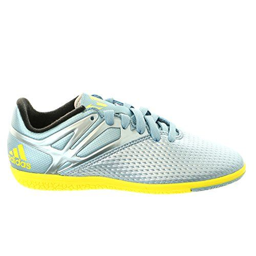 new arrival 9ae22 a2fea adidas Performance Messi 15.3 IN J Soccer Shoe (Little Kid Big Kid), Matte  Ice Metallic Bright Yellow Black, 1 M US Little Kid