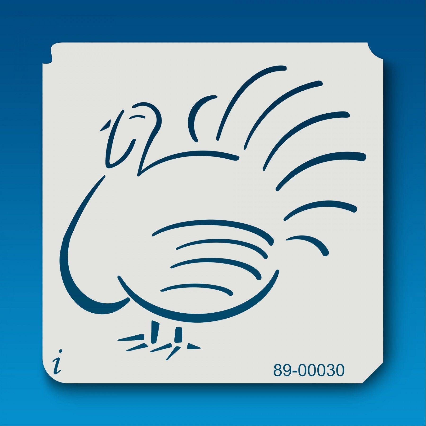89-00030 Turkey Bird Stencil | Patterns & Design | Pinterest ...