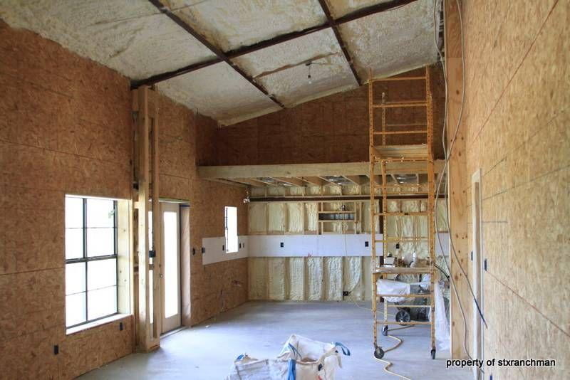 Building a barndominium pic heavy photos texas