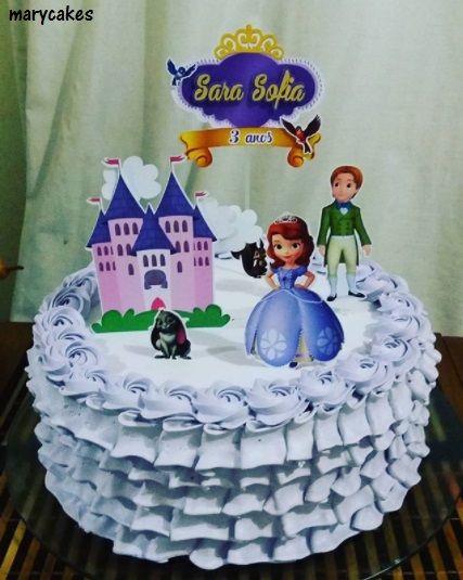 Bolo Da Princesa Sofia 68 Ideias Incriveis Passo A Passo Facil