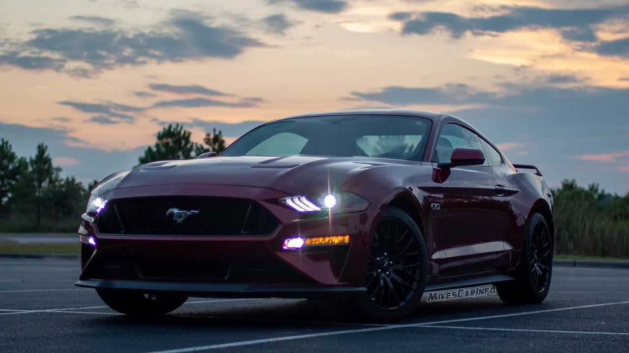 At Night 2019 Ford Mustang Gt Interior And Exterior Lighting
