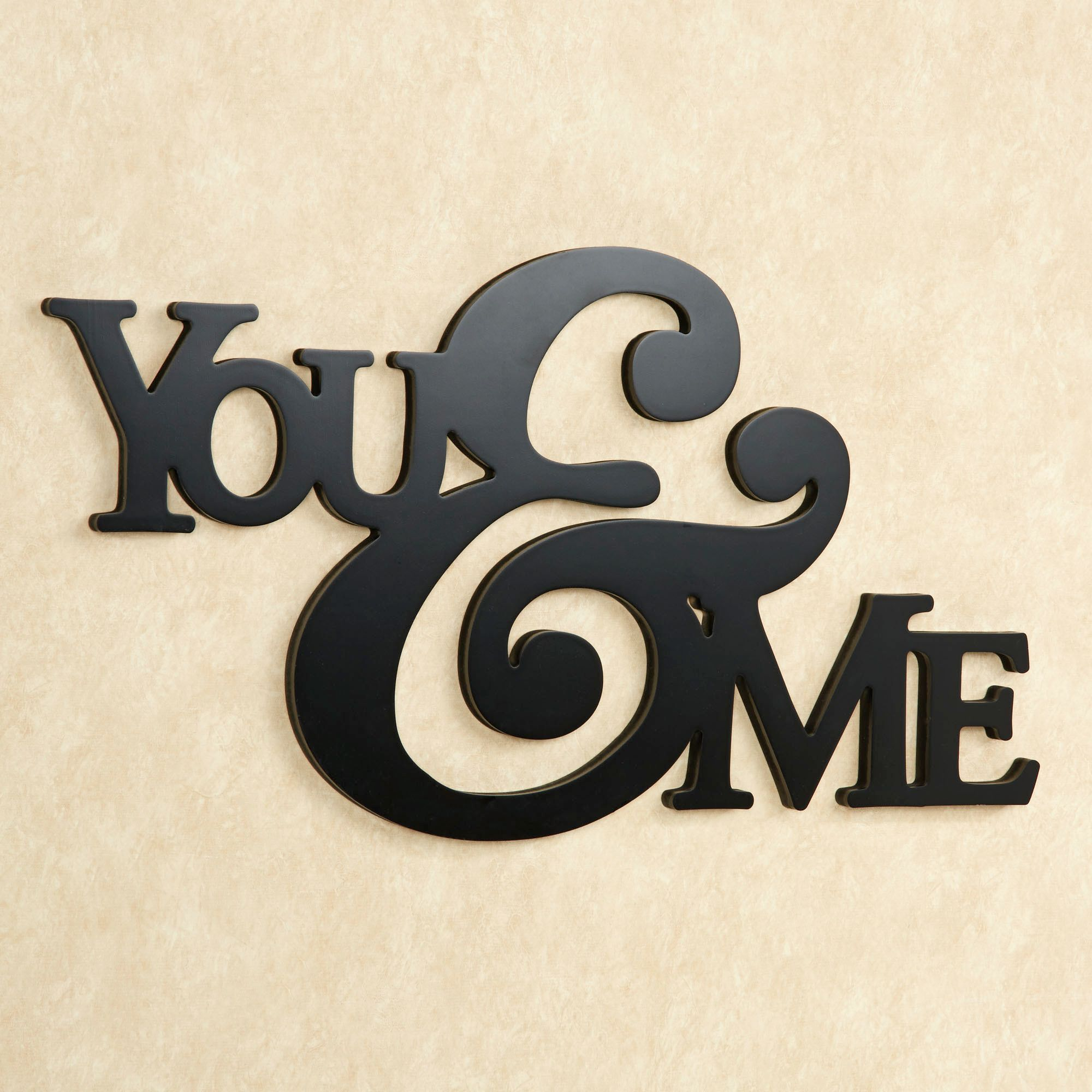 You and Me Wor.