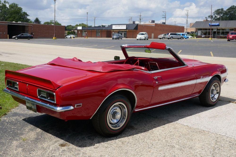 1968 Chevrolet Camaro | Classic Muscle Cars • Camaro • Chevelle ...