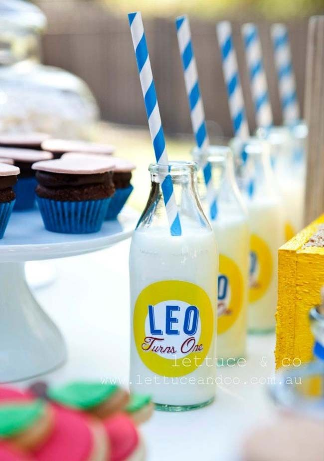 Pinocchio First Birthday {Boy Party Ideas} - Spaceships and Laser Beams