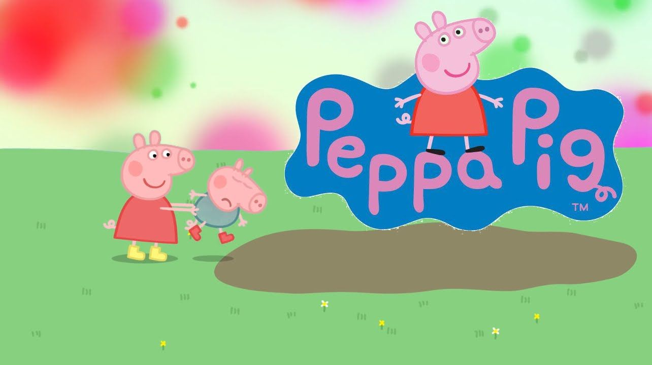 Peppa Pig Backgrounds Group