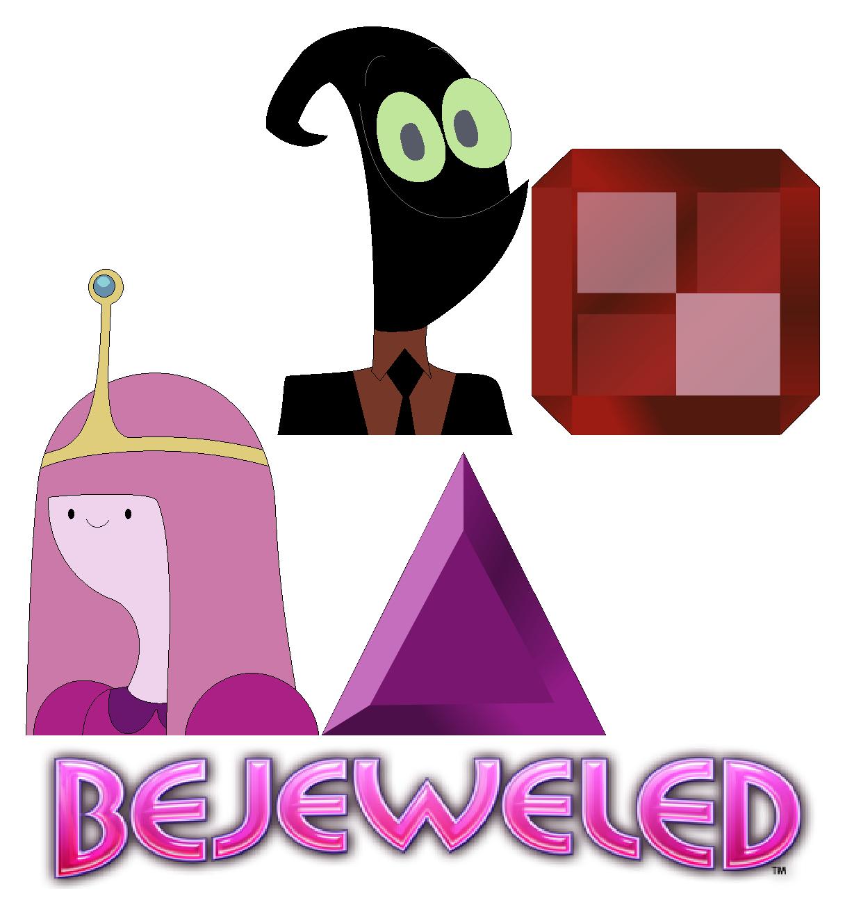 Nergal And Princess Bubblegum In Bejeweled PopCap Game Cartoon Network 2016 :)