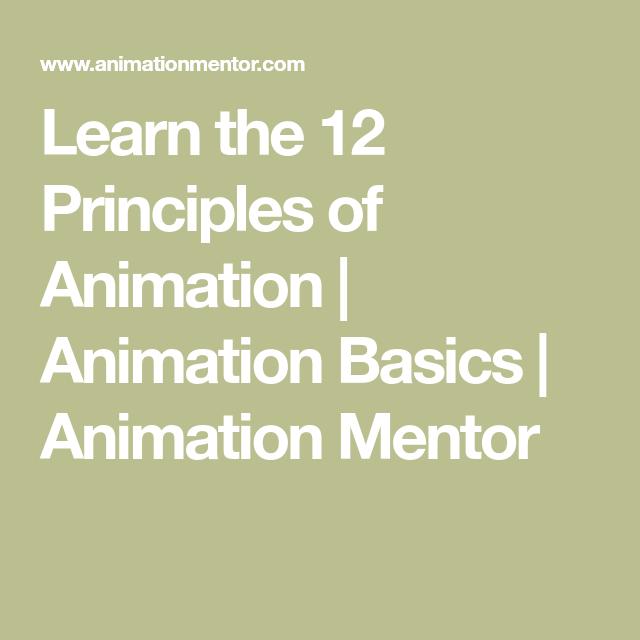 animation basics