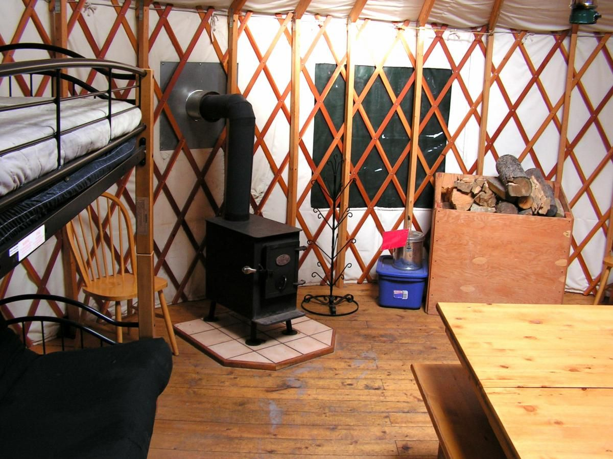 Idaho yurts, Right off Highway 20, 30 minutes from
